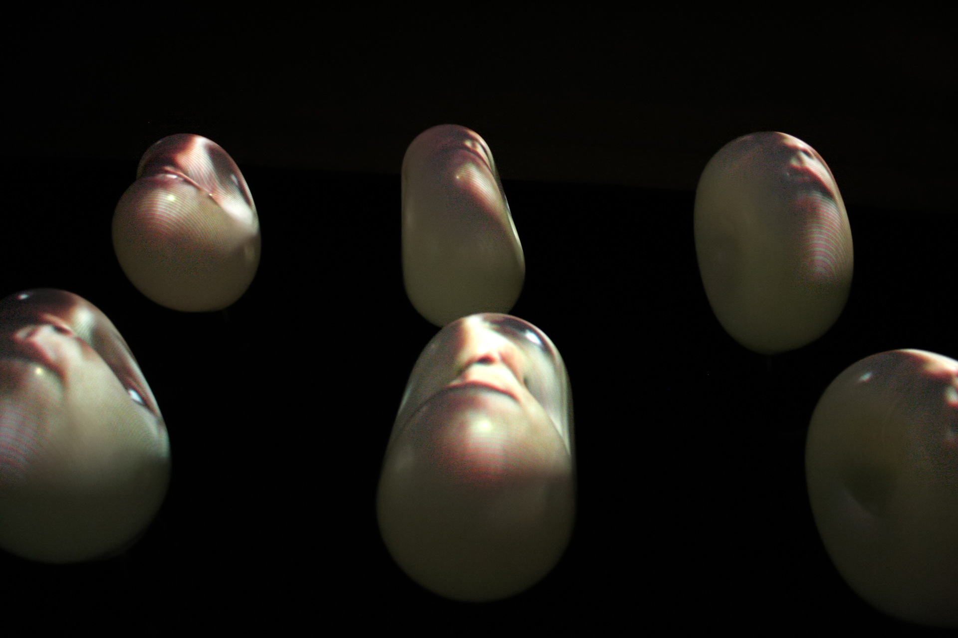 Installation vidéo sculpture